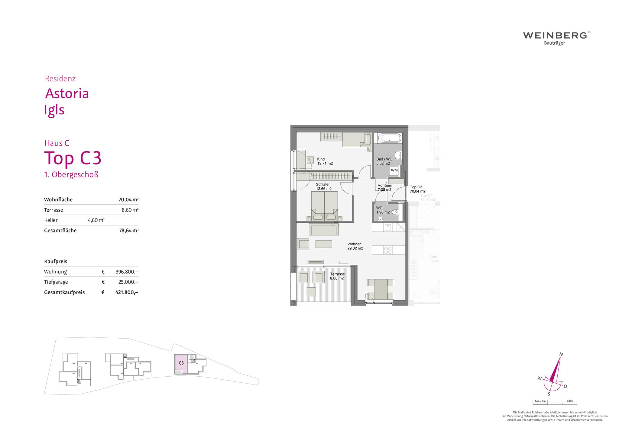 Aktuelle Projekte Weinberg Bautrager